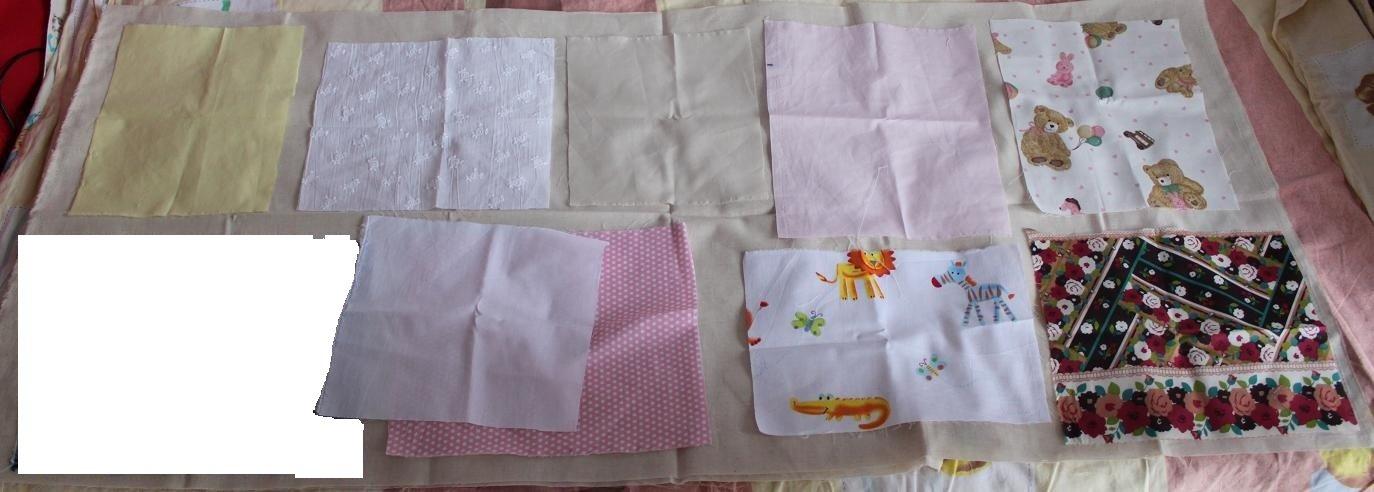 Gift Fabric DIY 9 pcs