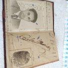 CEDULA DE IDENTIDAD DOCUMENTO ID CARD REPUBLICA ARGENTINA, BUENOS AIRES. 1949 #1