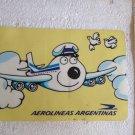 Aerolineas Argentinas Airlines OLD Sticker NOS #1 (