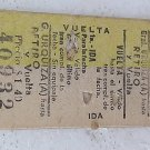 Boleto Ticket Ferrocarril Argentina Railroad Railway 5 OLD #3