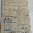ARGENTINA ARMY MILITARY ID CARD VERY OLD