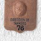 Transit Police Policia Argentina Plate Badge OLD #4