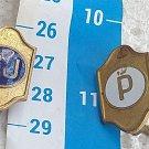 Argentina Argentine Police Collar Uniform Badge Badges OLD #6