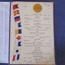 Easter Lines Cruise Ship Breakfast Menu Speisekarte #7