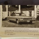 Buick Electra 1966 Original Buick Publicity Car Photo      #7