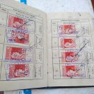 Argentina Argentine Real Estate Payment Book 1950 LOT OF REVENUE STAMPS #8