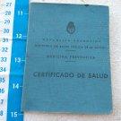 Argentina Argentine Health Certificate 1950 #8