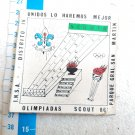 Argentina Argentine Boy Scout Scouts 1986 Badge Patch #8