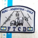 Argentina Air Force Multinational Manoeuvres Badge Patch #8