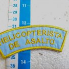 Argentina Air Force Assault Helicopter Pilot Badge Patch #8