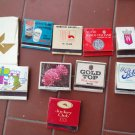 Matchbox - Match box - Boite d'allumettes - Streichholzschachtel LOT OF 10 Publicity #9