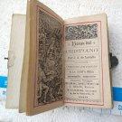 Horas de Cristiano Chretien Christian Prayer Book ANTIQUE #9