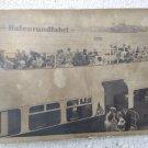 German Germany Cruise Hafenrundfahrt Port Postcard #9