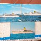 C Line Ship Cruise Schiff Port Postcard LOT OF 3 #9