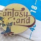 sale Disney Fantasy Land Disneyana Licensed OLD Badge Pin #9