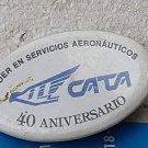Argentina Argentine CATA Cargo Airplane Badge Pin #9