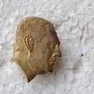 Argentina Argentine Peron Bust Badge Pin #9