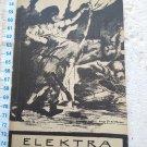 Elektra Richard Strauss Buch Opera Script OLD #10