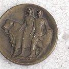Uruguay Banco Republica National Bank 50 Anniversary 1946 Medal #10