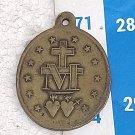 Argentina Virgin Mary Holy Heart Christian Medal #10