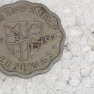 Ghana 2 1/2 Pesewas 1967 Coin #10