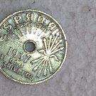 España 25 Centimos 1937 Coin #10