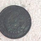 Argentina 2 Centavos 1891 Coin #10