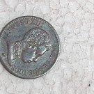 ESPAÑA 1 CENTIMO ALFONSO XIII 1906 Coin #10