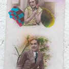 Photo Photography Woman Man Romantic Couple Postcard OLD #10