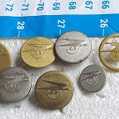 Argentina Argentine Airlines Aerolineas 7 Buttons Button #11