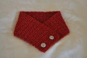 Red Crochet Neck Warmer