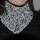 Crochet Gray Marble Neck Warmer