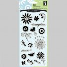 Inkadinkado Clear Stamps Garden Words