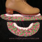 Watermelon Print Ice Skating and Hockey Soakers Blade Covers