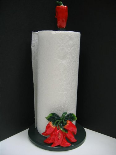 Red Chili Pepper Paper Towel Holder