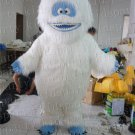 new white monster mascot costume Abominable Snow Monster  Yeti free shipping