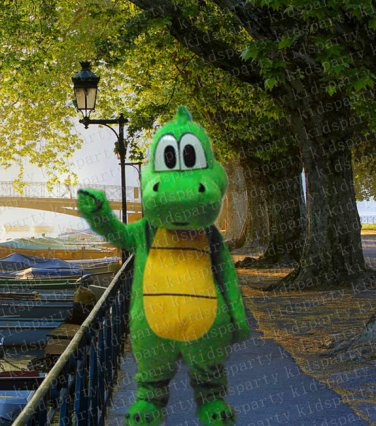 New yoshi dragon mascot costume Halloween costume fancy dress free shipping
