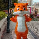 New high quality fox mascot costume adult size Halloween costume fancy dress free shipping