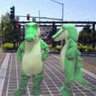 New high quality Crocodile mascot costume adult size Halloween costume fancy dress free shipping