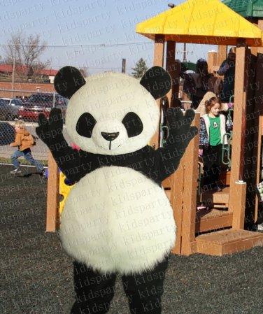 New high quality panda mascot costume adult size Halloween costume fancy dress free shipping