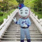 New high quality mr met mascot costume adult size Halloween costume fancy dress free shipping