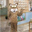 high quality Friendly Jaguar mascot costume adult size Halloween costume fancy dress free shipping