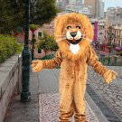 high quality king lion mascot costume adult size Halloween costume fancy dress free shipping