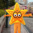 high quality star mascot costume adult size Halloween costume fancy dress free shipping
