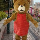 high quality bear mascot costume adult size Halloween costume fancy dress free shipping