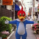 high quality woodpecker mascot costume adult size Halloween costume fancy dress free shipping