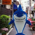 high quality shark fish mascot costume adult size Halloween costume fancy dress free shipping