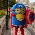 high quality minion mascot costume adult size Halloween costume fancy dress free shipping