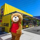 high quality bear mascot costume adult size Halloween costume fancy dress free shipping