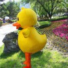 high quality yellow duck mascot costume adult size Halloween costume fancy dress free shipping